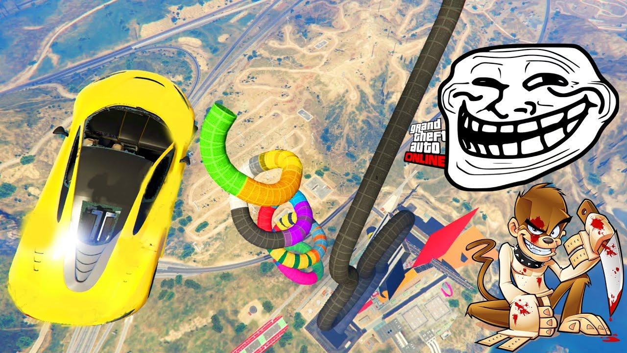 Race Troll The Most Hard Lasalle! - Gta 5 Online avec Jeux De Course Online