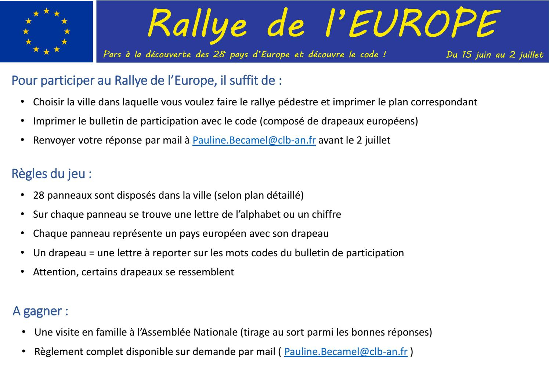 Rallye De L'europe By Didierbaichere - Issuu à Mots Codés À Imprimer