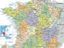 Regions Map Of France dedans Map De France Regions