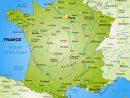 Regions Map Of France intérieur Map De France Regions
