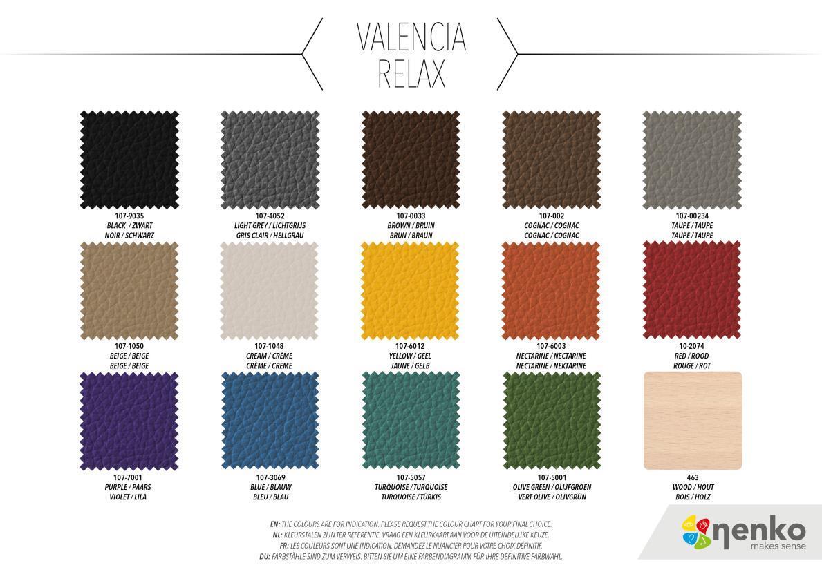 Relax Fauteuil - Manuel - Valencia concernant Code Couleur Taupe