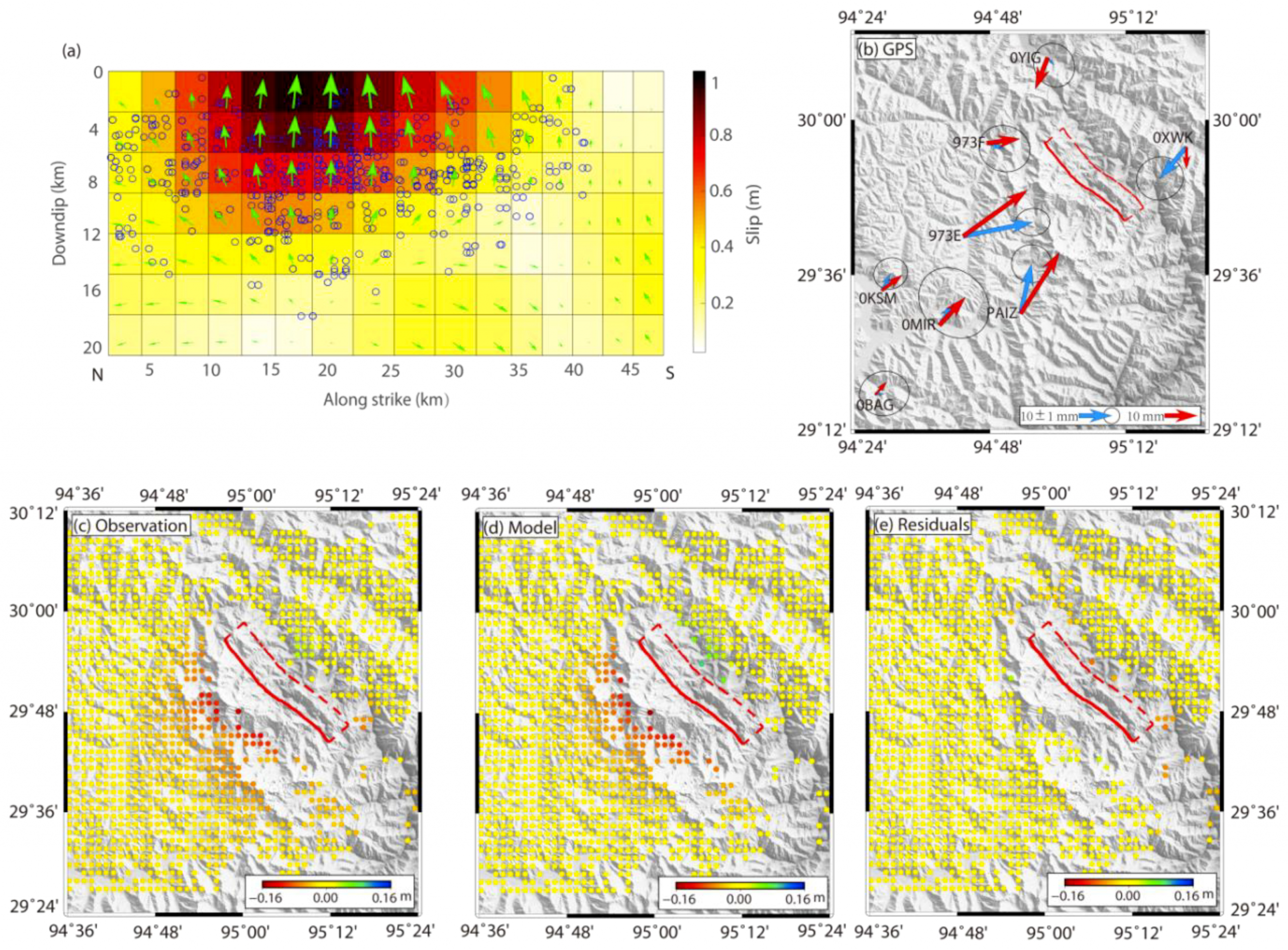 Remote Sensing | Free Full-Text | Geodetic Model Of The 2017 pour Traits Obliques Ms