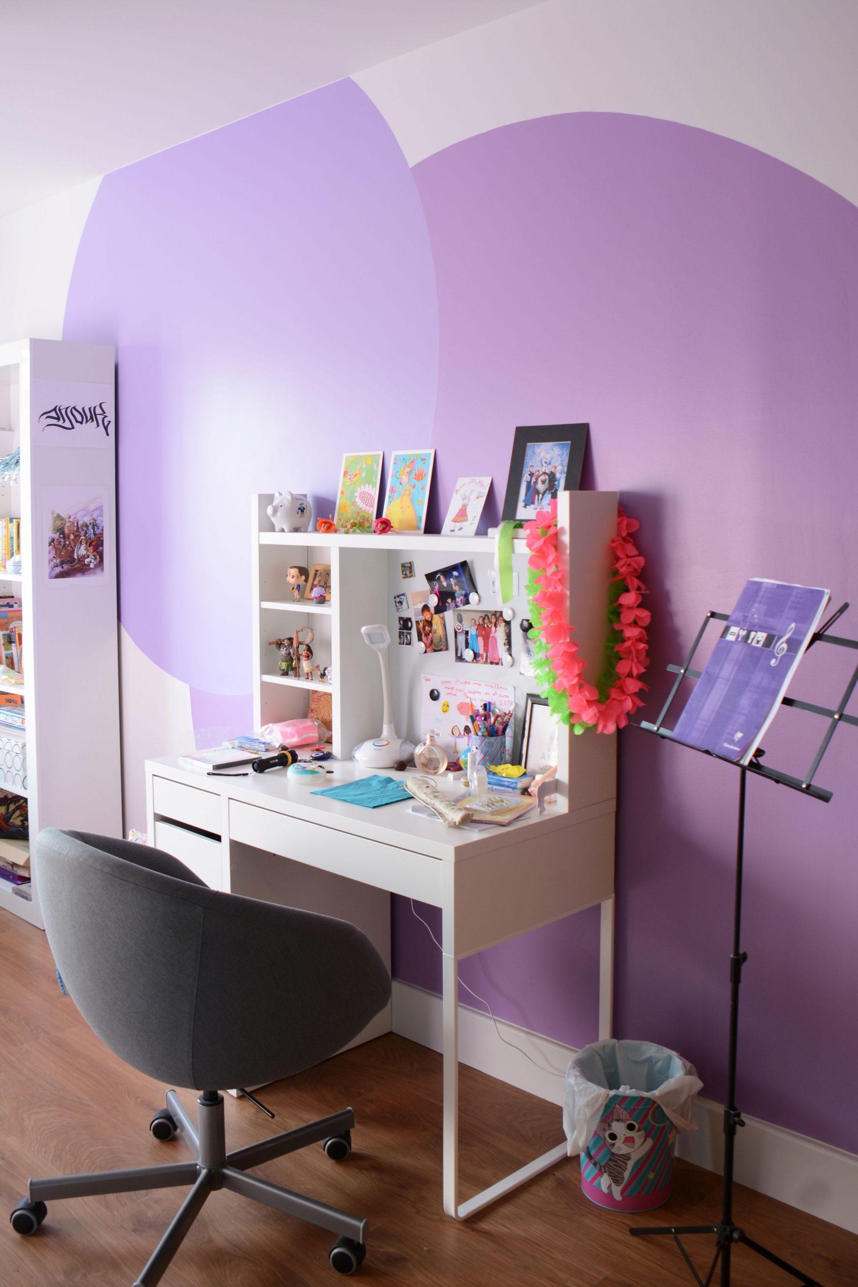 Rénovation En Peinture Pour La Chambre D'enfant De La Maison encequiconcerne Jeux De Peinture Pour Fille