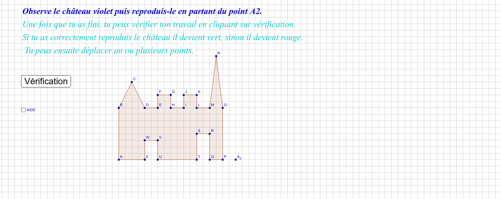 Reproduction De Figure Ce1 – Geogebra encequiconcerne Reproduction De Figures Ce1