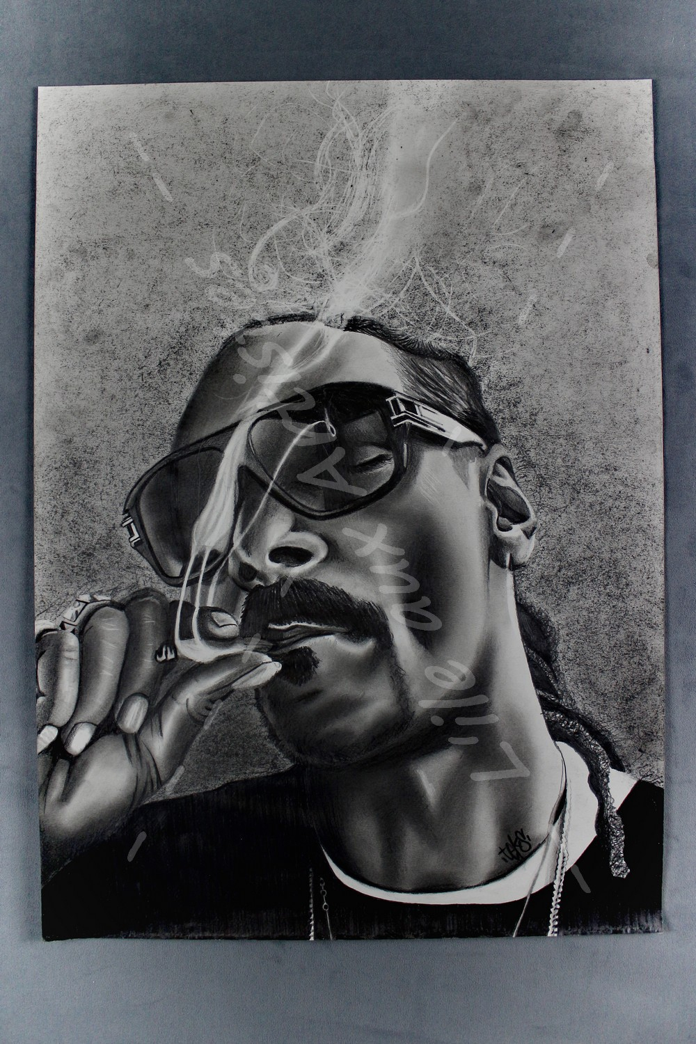 "Reproduction Dessin ""snoop Dog"" avec Image De Dessin A Reproduire"
