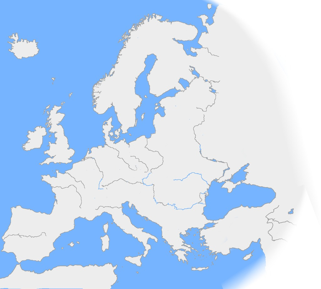 Ressources Éducatives Libres - Data.abuledu | Les pour Carte Fleuve Europe Vierge