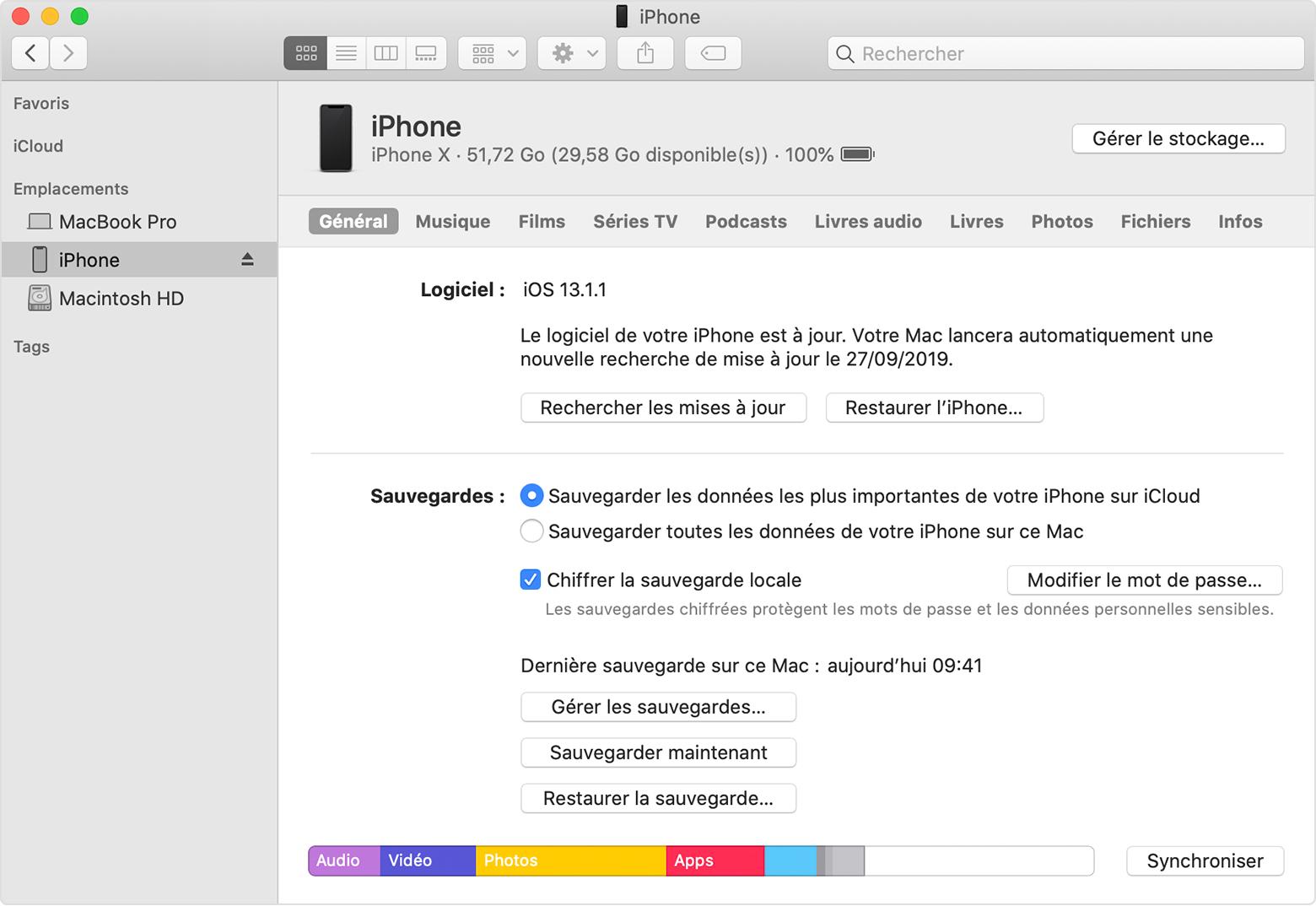 Restauration De Votre Iphone, Ipad Ou Ipod Touch À Partir D pour Ordi Mots