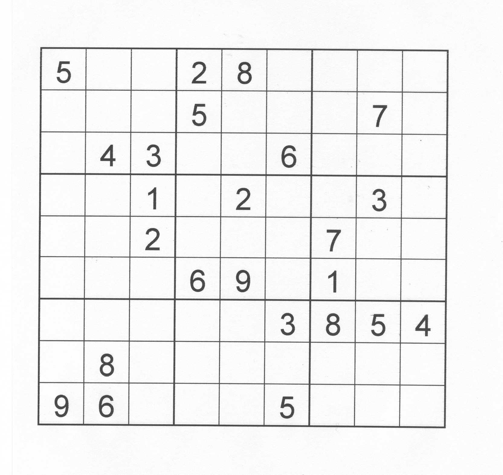 Résultats Sportifs & Jeux Culturels destiné Jeux Sudoku À Imprimer