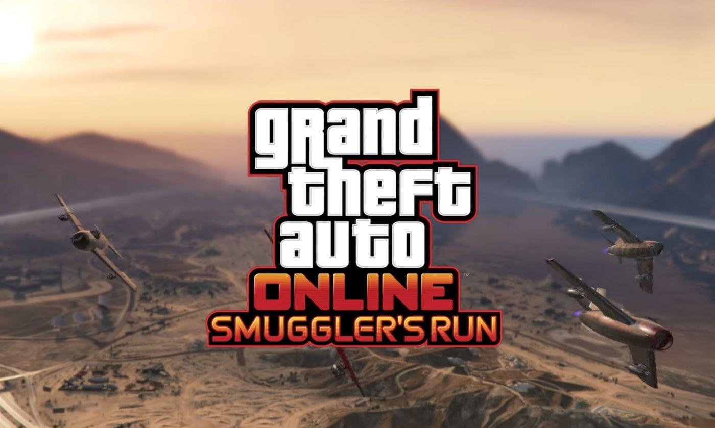 Return To 'smuggler's Run' In The Next 'gta: Online' Expansion dedans Jeux De Course Online