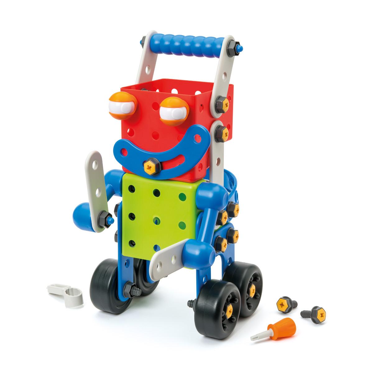Robot Build It Géant 81 Pièces serapportantà Jeux Pour Voiture Bébé