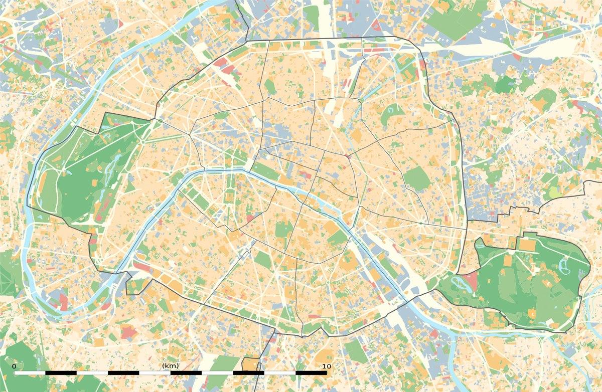 Rocroy Saint-Vincent De Paul — Wikipédia concernant Carte De France Ce1