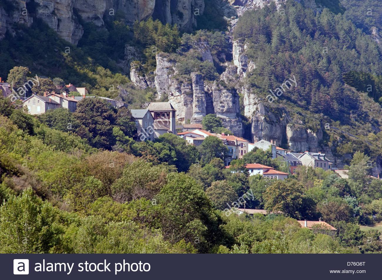 Roquefort Sur Soulzon In The Aveyron (12) Departement Of concernant Departement 12 En France