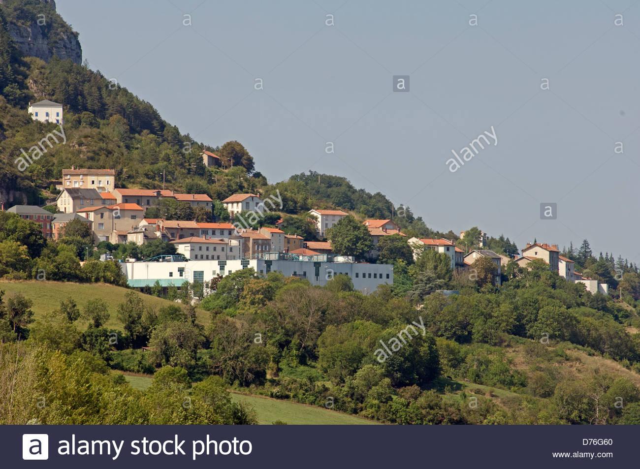 Roquefort Sur Soulzon In The Aveyron (12) Departement Of destiné Departement 12 En France