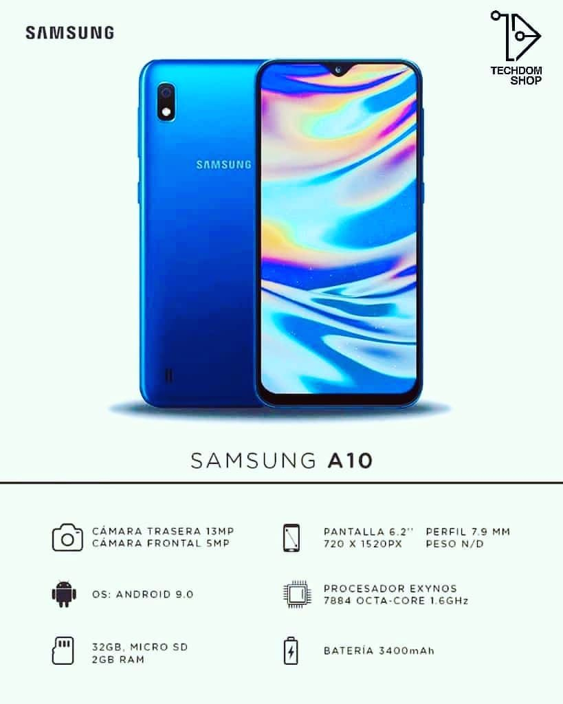 Samsung Galaxy A10 32 Gb ➡ Disponbile En Todos Los Colores destiné A10 Jeux Gratuit