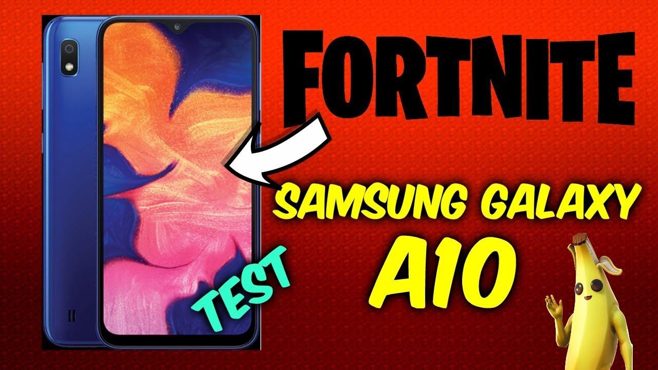 Samsung Galaxy A10 - Fortnite Mobile Performance ( Short Gameplay ) pour A10 Jeux Gratuit