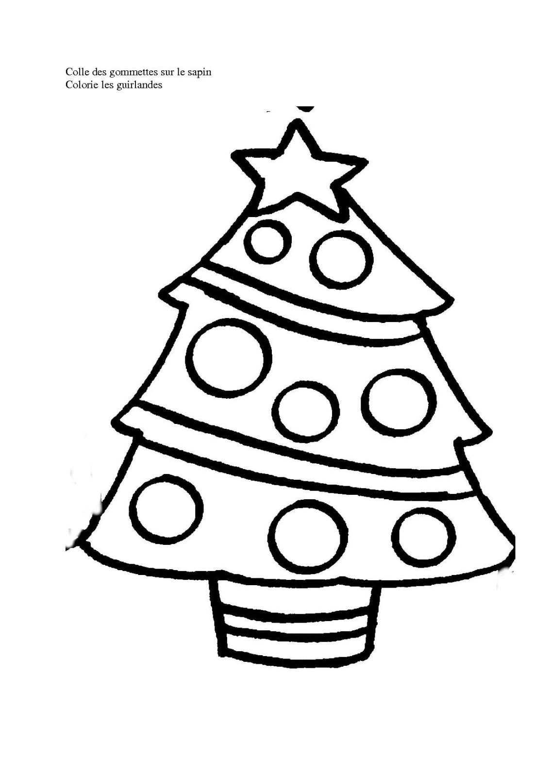 Sapin De Noël #56 (Objets) – Coloriages À Imprimer destiné Sapin De Noel A Colorier Gratuit