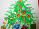 Sapin De Noël En Empreintes De Mains - La Maison Féerique destiné Activités Manuelles Enfants Noel