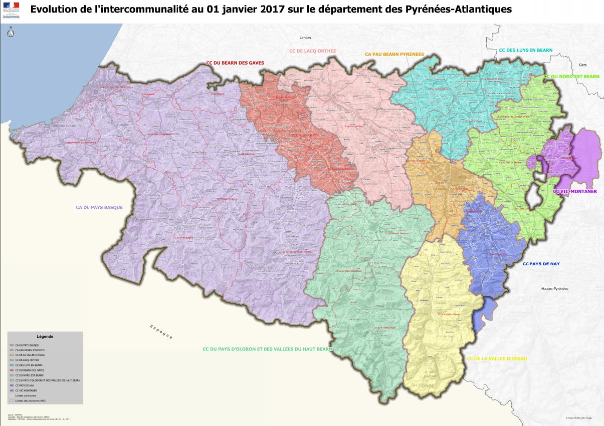 Schéma Départemental De Coopération Intercommunale Au 01 tout Carte Des Préfectures