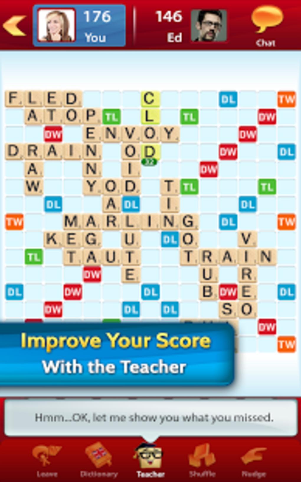 Scrabble Apk Pour Android - Télécharger serapportantà Jeux De Mots Gratuits En Francais A Telecharger