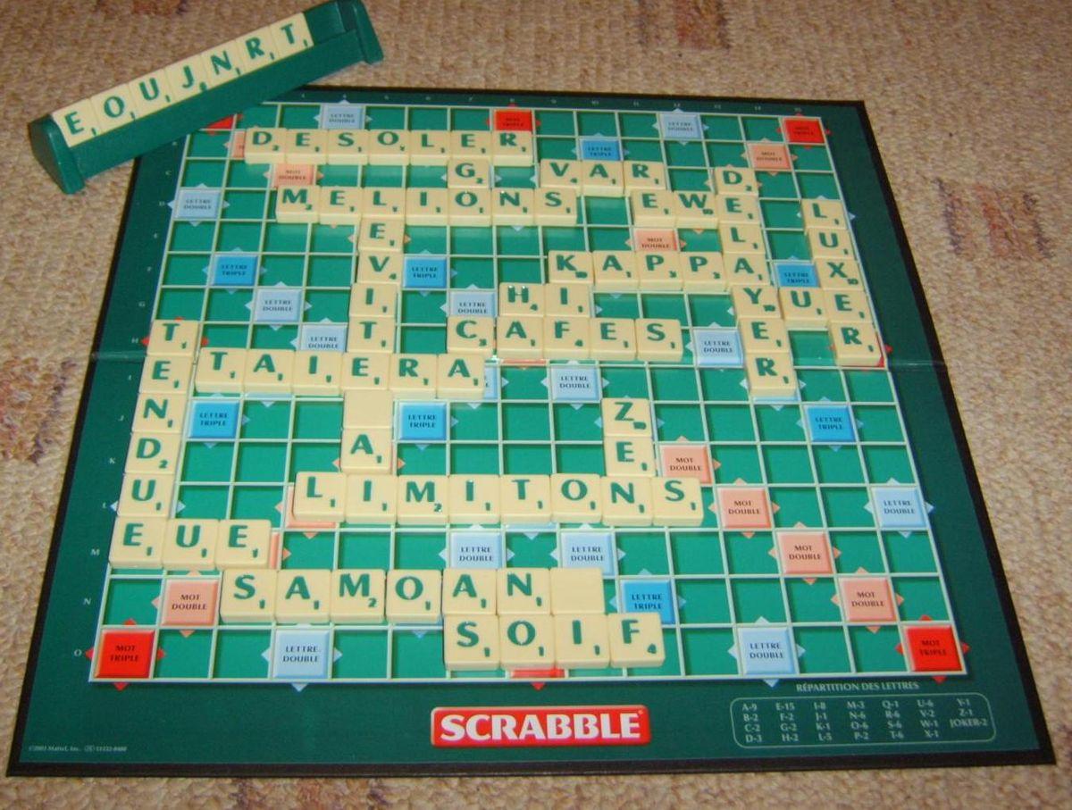 Scrabble — Wikipédia à Jeu De Société Avec Des Lettres