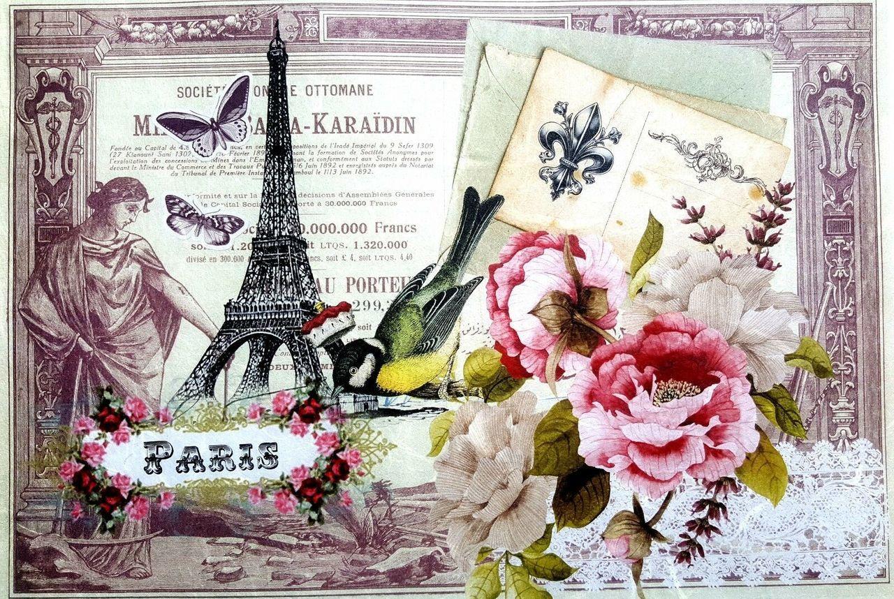 Scrapbook Sheet Rice Paper For Decoupage Flower Frams Bastel encequiconcerne Découpage Cp