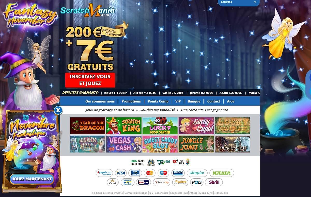 Scratchmania Casino : Tout Ce Que Vous Devez Savoir pour Tout Les Jeux Gratuit En Ligne