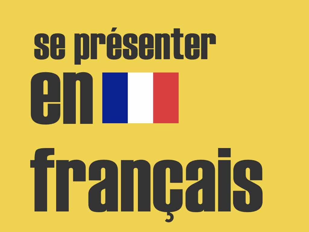 Se Présenter En Français - Cours De Français Pour Débutant concernant Apprendre A Ecrire Le Francais Pour Debutant
