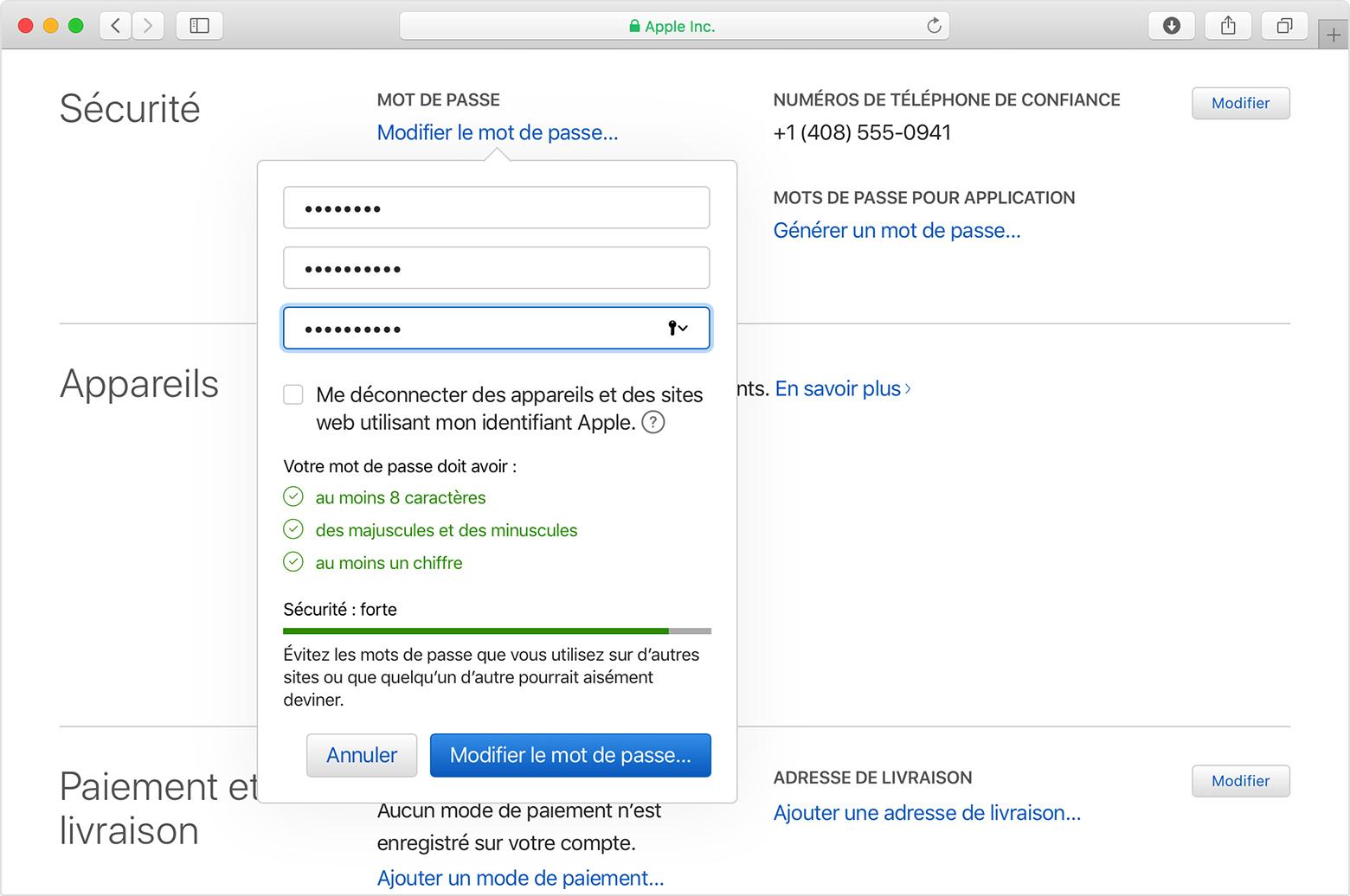 Sécurité Et Identifiant Apple - Assistance Apple intérieur Aide Pour 4 Images Un Mot