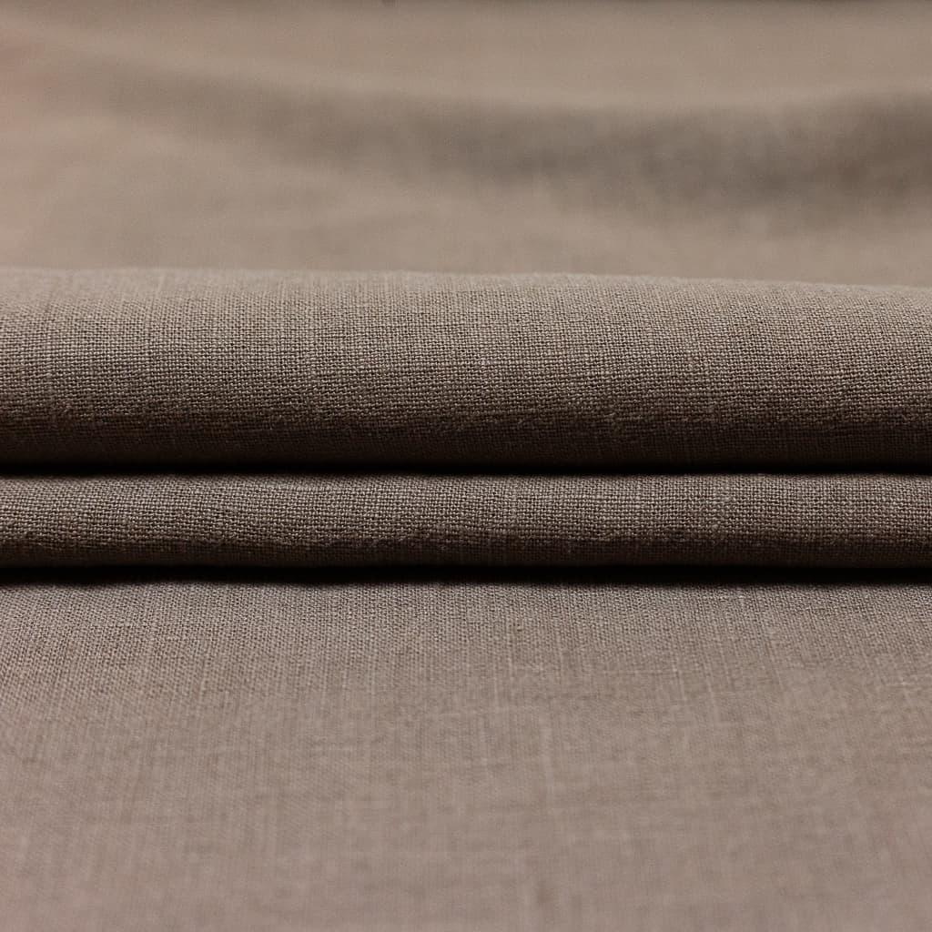 Sélection Coup De Coudre - Tissu Toile De Pur Lin Uni Couleur Taupe concernant Code Couleur Taupe