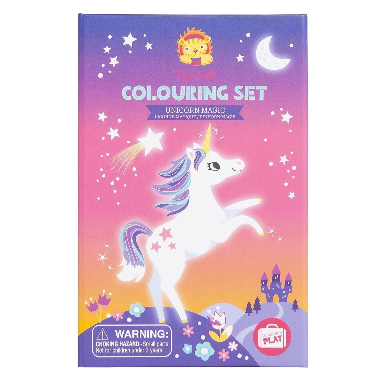 """Set De Coloriage """"licorne Magique"""" tout Jeux De Coloriage Licorne"""