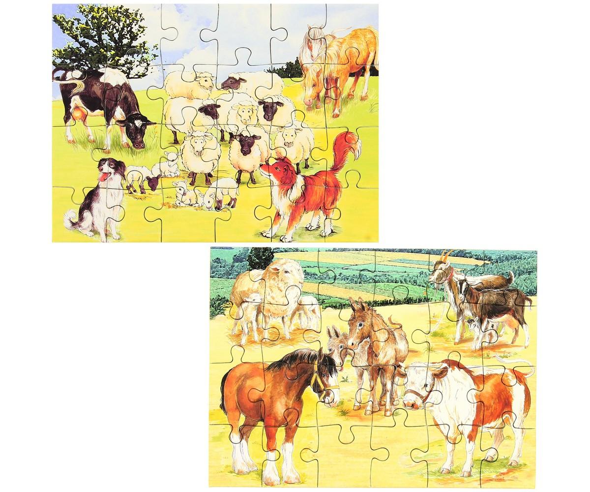 Set Jouet Lot 2 Mini Puzzles Ludique Jeu Enfant Animaux De serapportantà Jeux Enfant Animaux