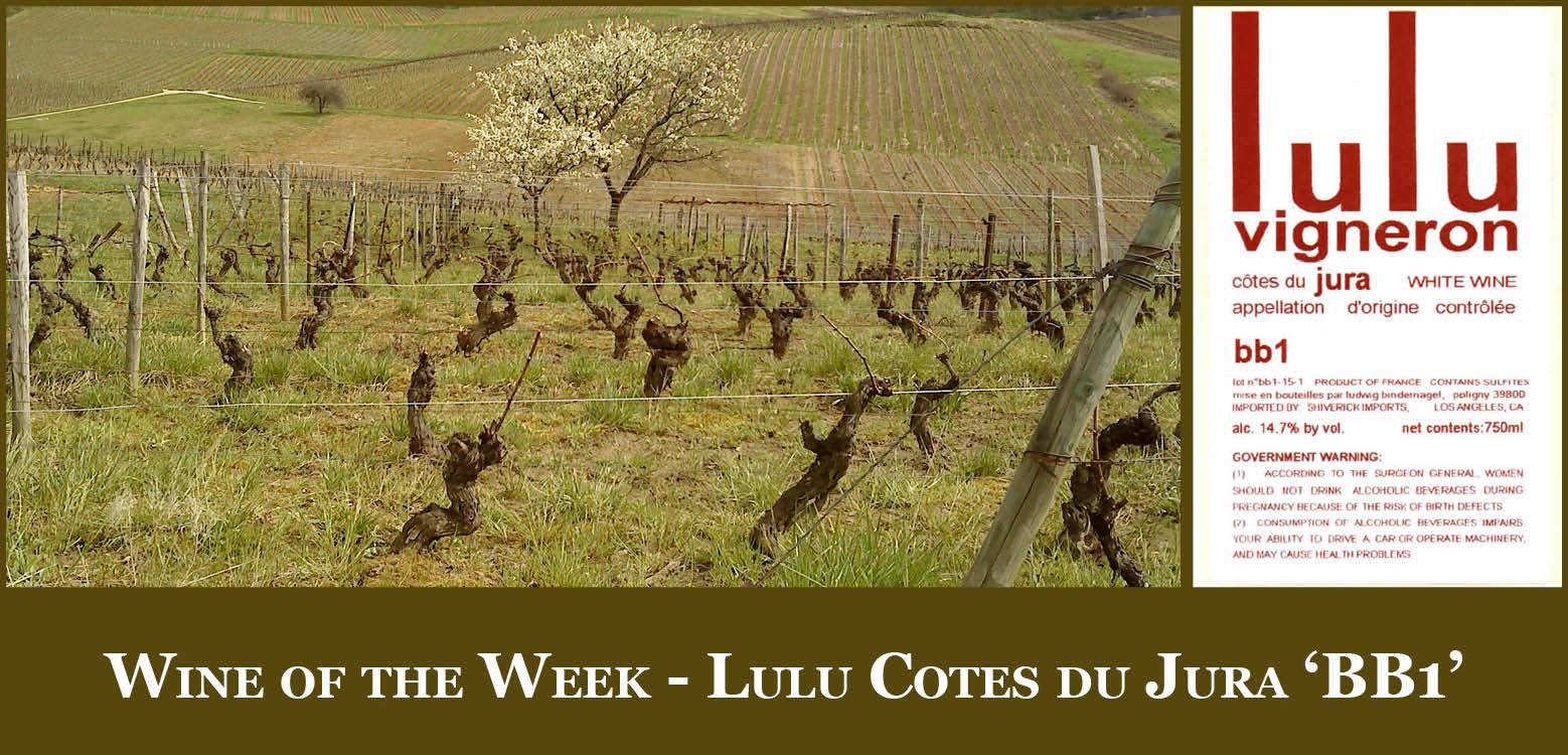 Shiverick Imports: Wine Of The Week - Lulu Côtes Du Jura 'bb1' à Lulu Impression