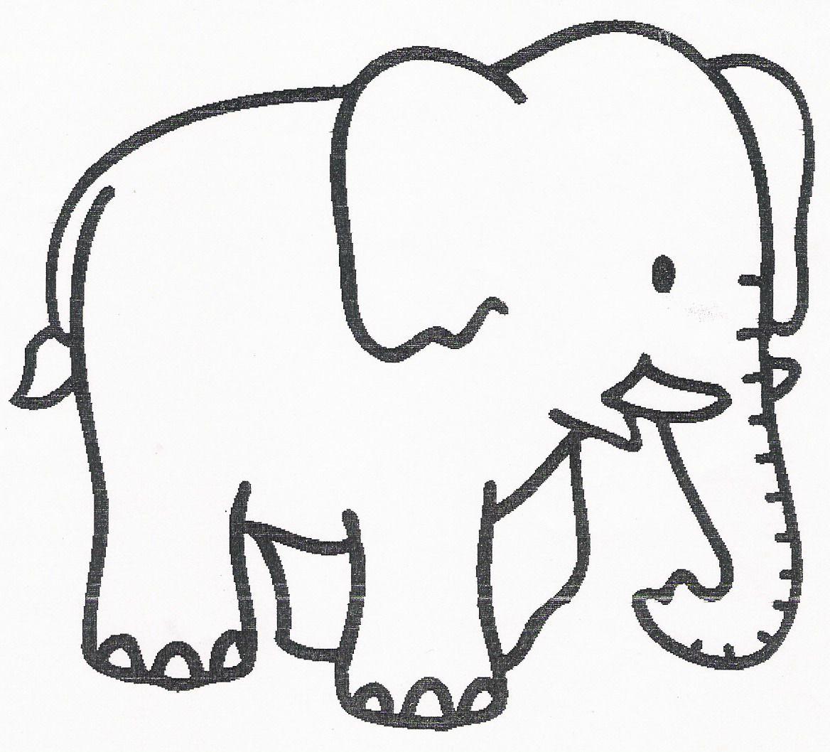 Silhouette Elephant Coloriage pour Silhouette D Animaux À Imprimer