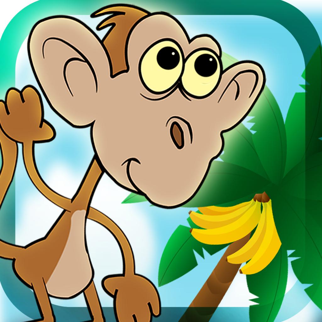 Singe De Banane En Cours D'exécution De Jeu : Fun Jeux destiné Jeux De Animaux Gratuit