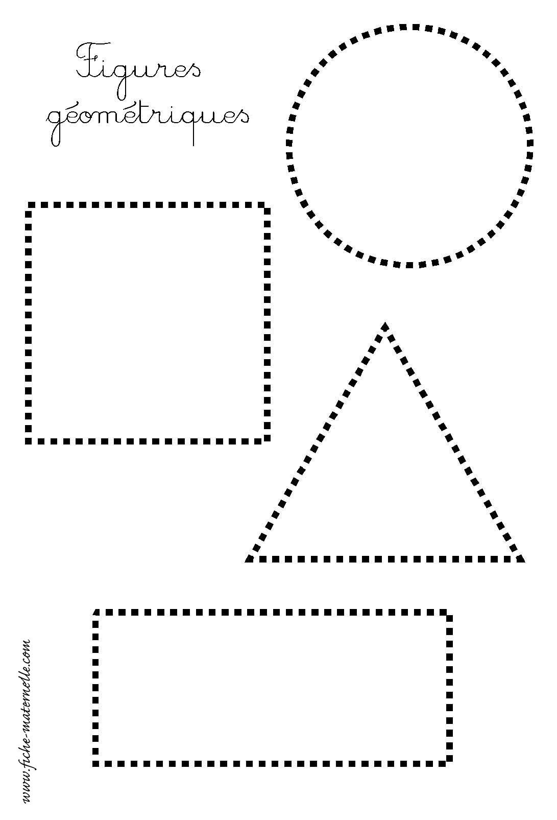 Site Maternelle Petite Section : Les Figures Géométriques destiné Fiche Activité Maternelle Petite Section