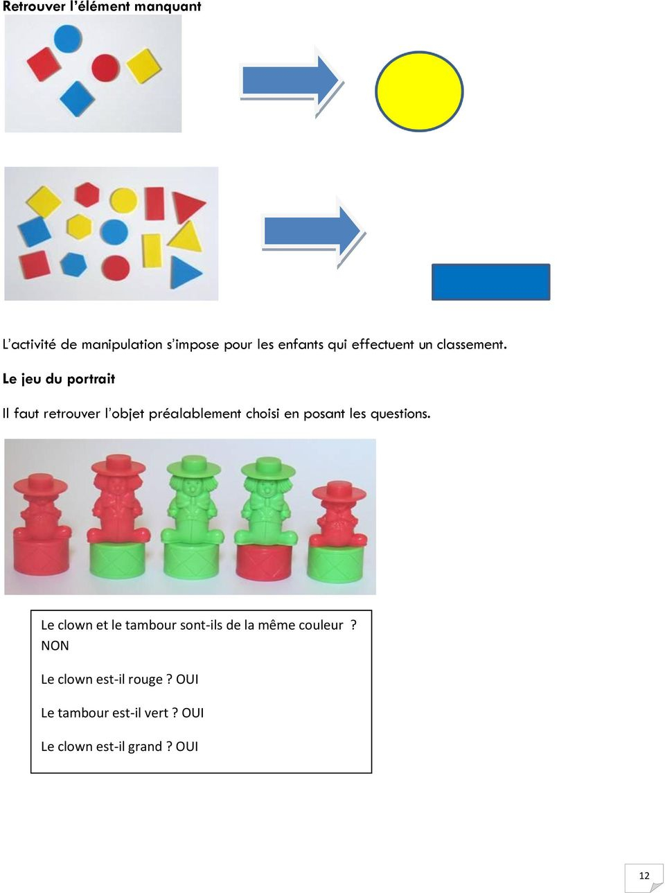 Situations Problème Et Jeux Mathématiques - Pdf destiné Jeux Ou Il Faut Retrouver Des Objets