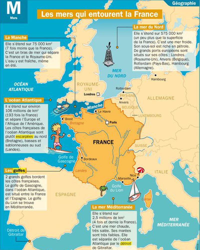 Situer Un Lieu Sur Une Carte Ou Un Globe Ou Sur Un Écran tout Carte De France Ce2