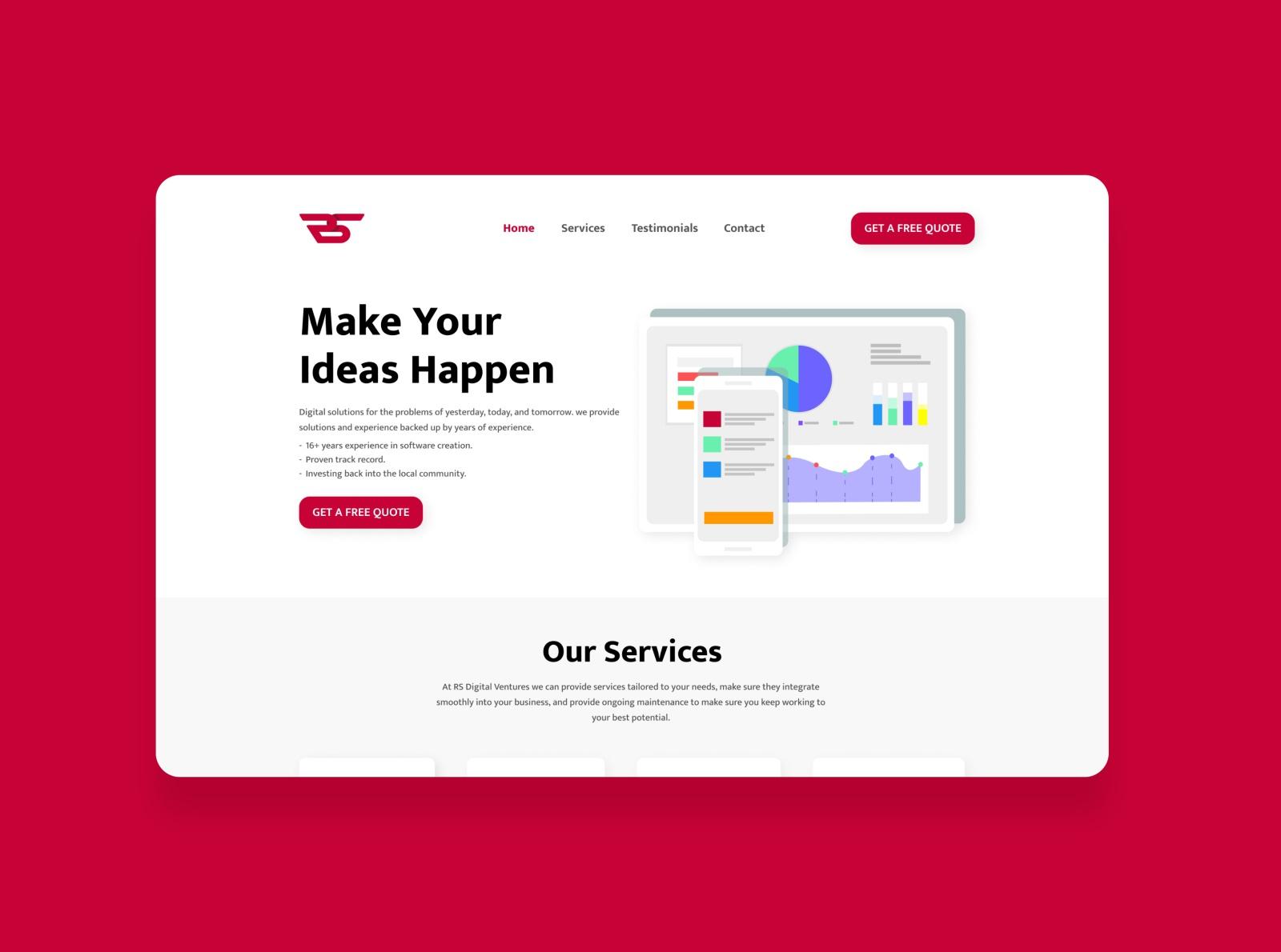 Software Agency Web Design By Souris On Dribbble tout La Souris Du Web