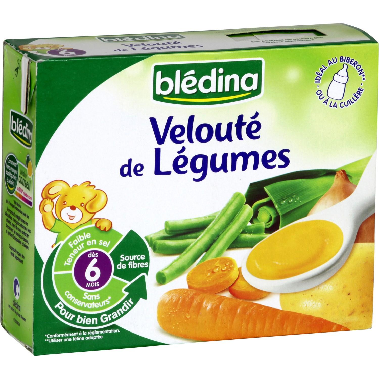 Soupe Bébé Blédiner 6 Mois, Légumes Blédina Blédina - Les 2 avec Brique Pour Bebe