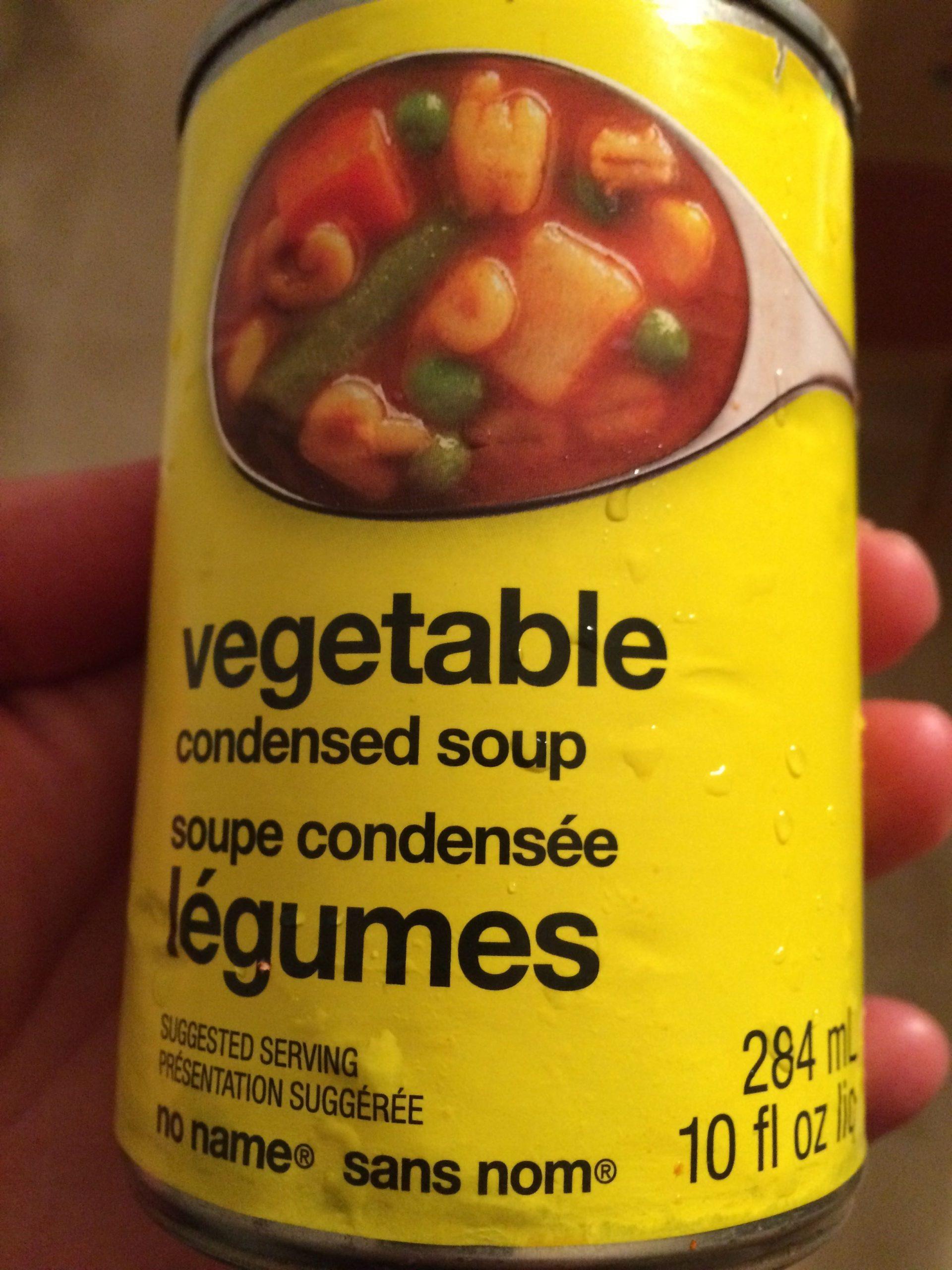 Soupe Condensée Légumes - Sans Nom Pour Loblaws Inc Toronto intérieur Nom Legume