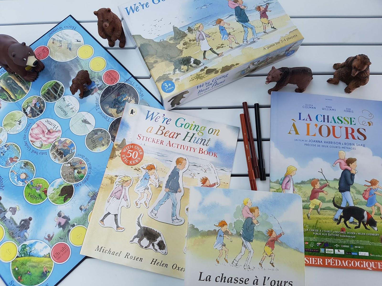 Sous Le Feuillage: Exploitation Album La Chasse À L'ours pour Fiche Activité Maternelle Petite Section