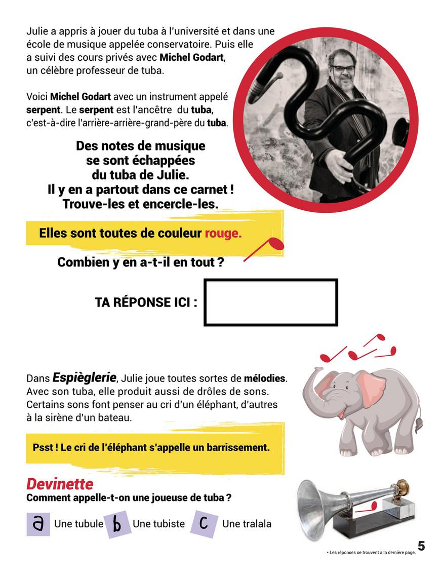 Spec Du Haut-Richelieu - Espièglerie - Page 2-3 - Created tout Barrissement Elephant