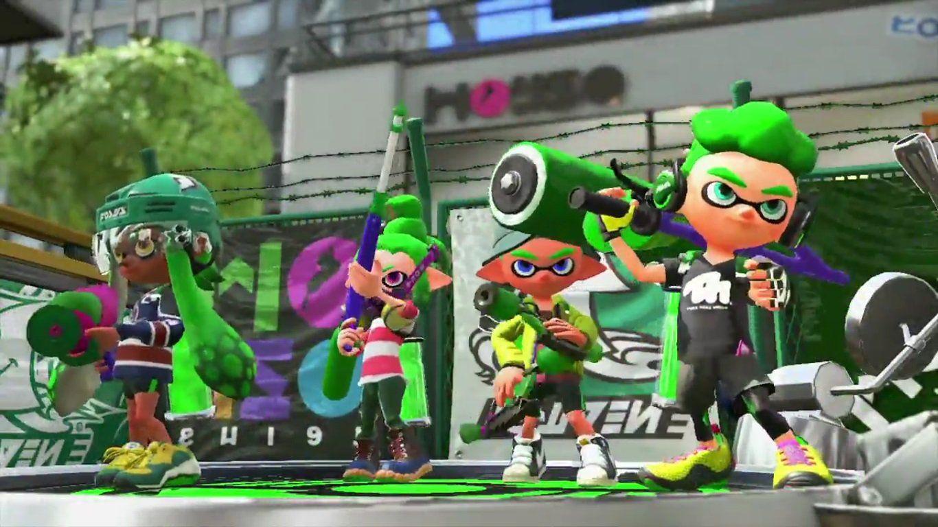 Splatoon 2 : Nintendo Ressort Son Jeu De Tir Sur Switch destiné Jeux De Tir 2