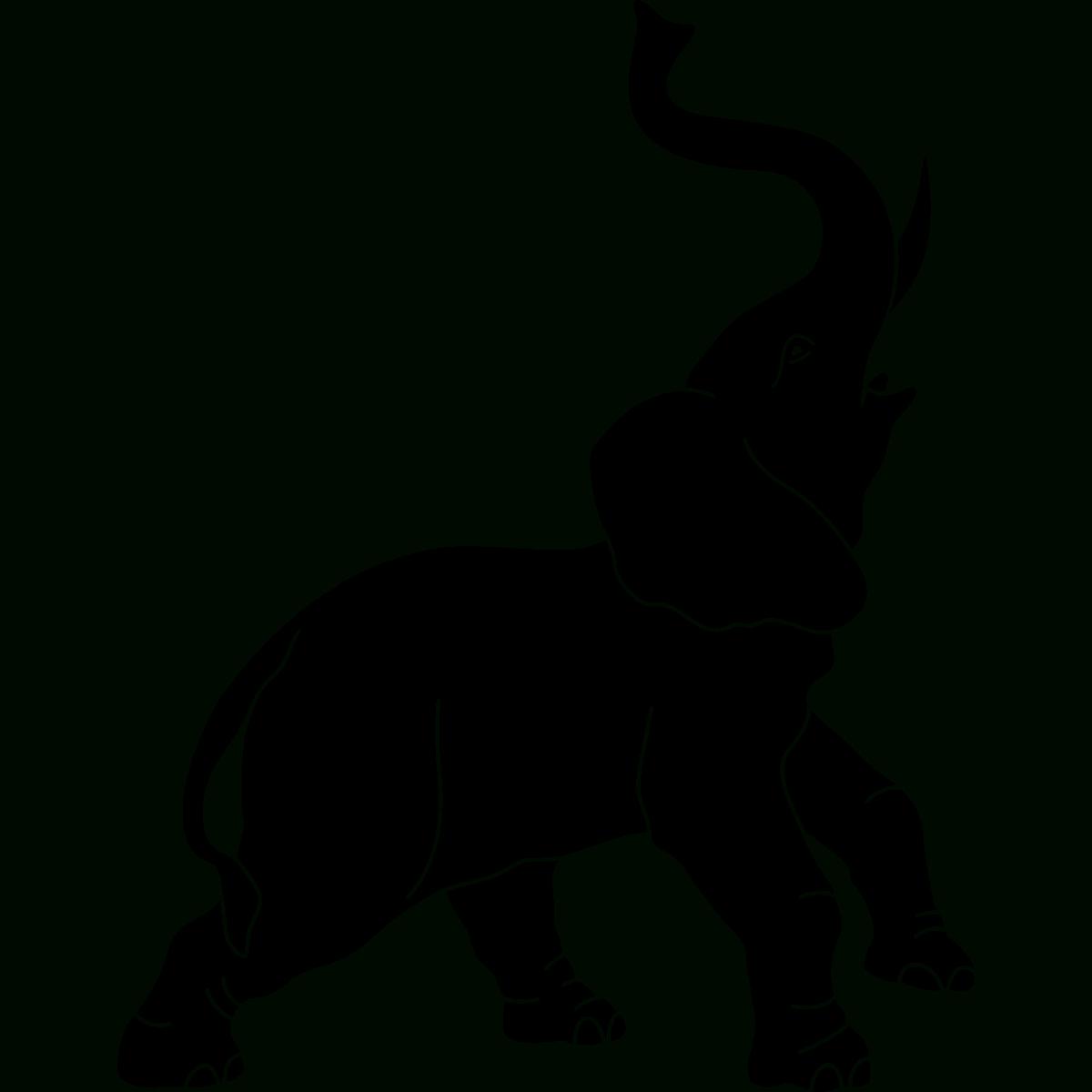 Sticker Elephant Qui Barrit concernant Barrissement Elephant