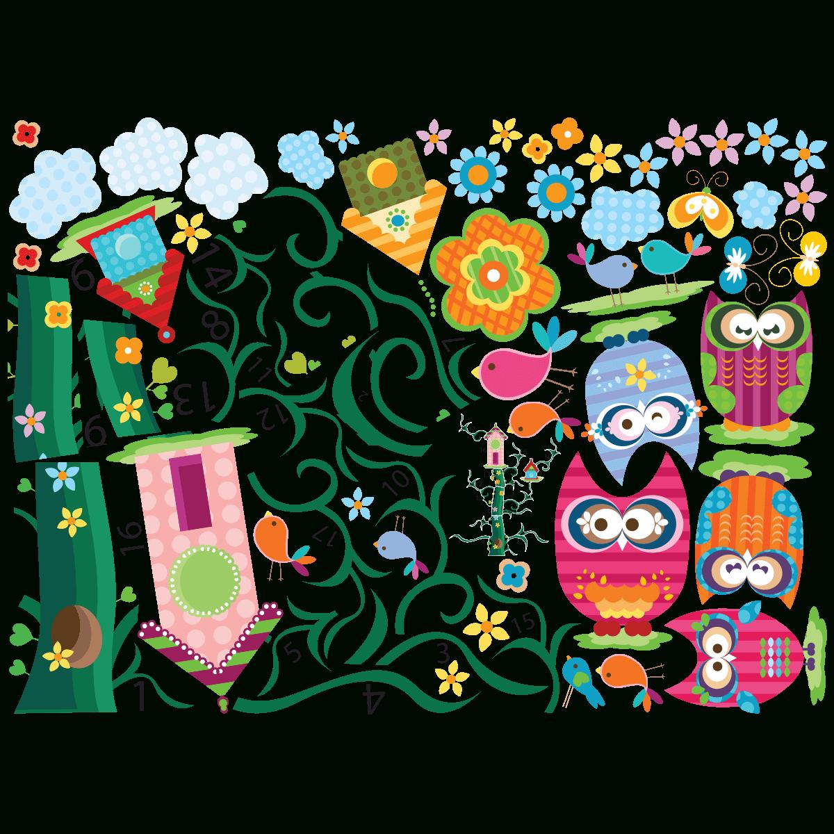 Stickers Enfant Hiboux Et Leurs Arbre Magique à Arbre Magique Voiture Personnalisé