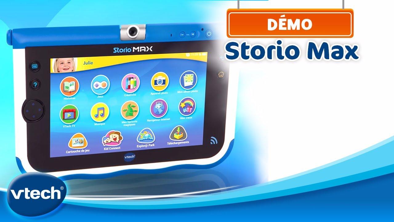 Storio Max - Tablette Éducative Spécialement Conçue Pour Les Enfants | Vtech pour Tablette Jeux 4 Ans