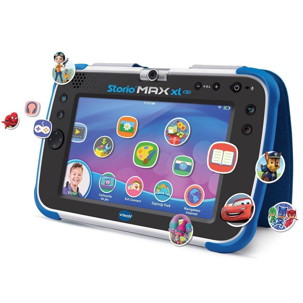 Storio - Tablette Storio Max Xl 2.0 Bleue à Tablette Jeux 4 Ans