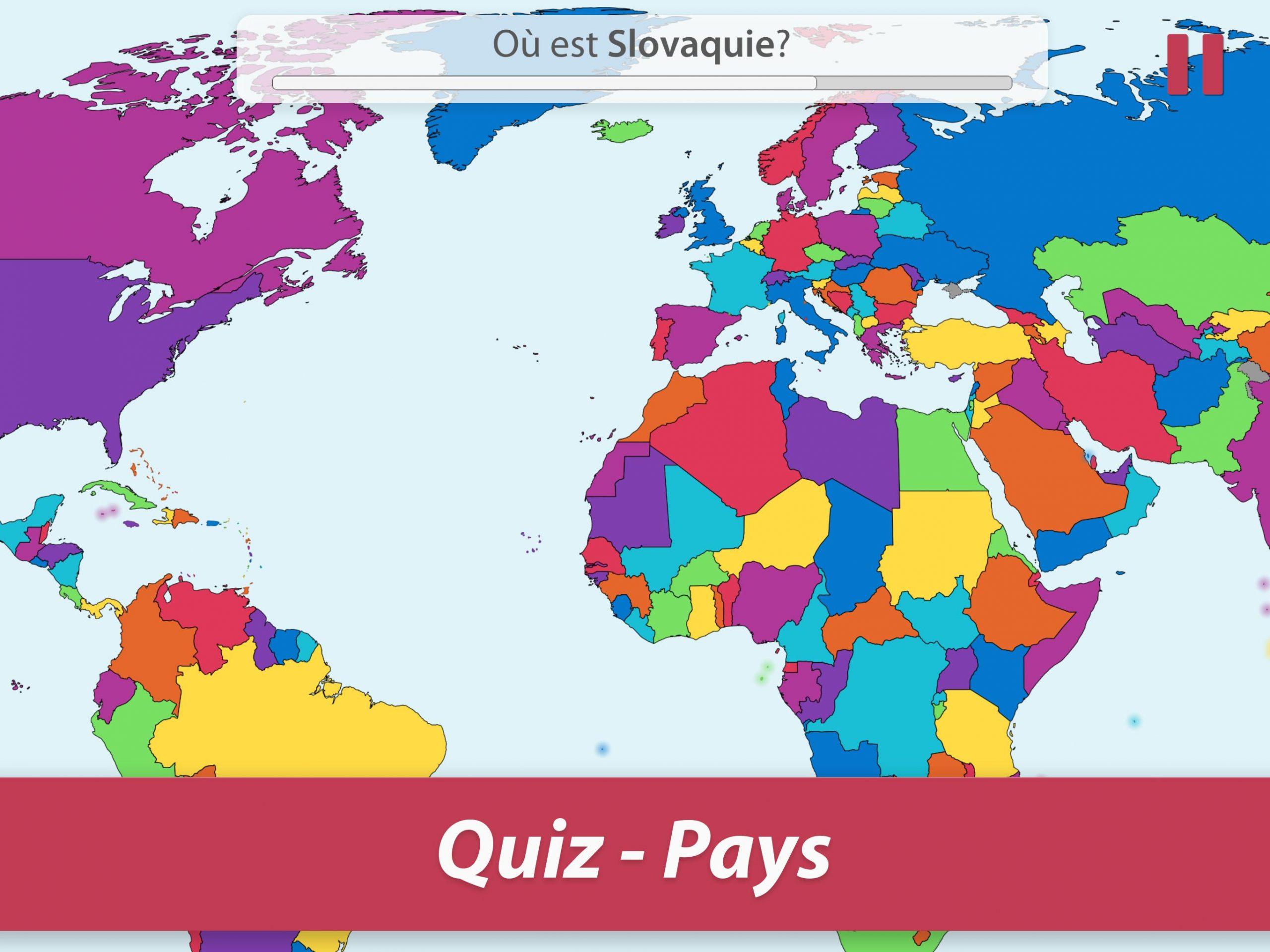 Studyge-Géographie, Capitales, Drapeaux, Pays Quiz Pour serapportantà Pays Et Leurs Capitales