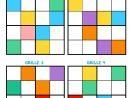 Sudoku Des Couleurs - Momes avec Sudoku Grande Section