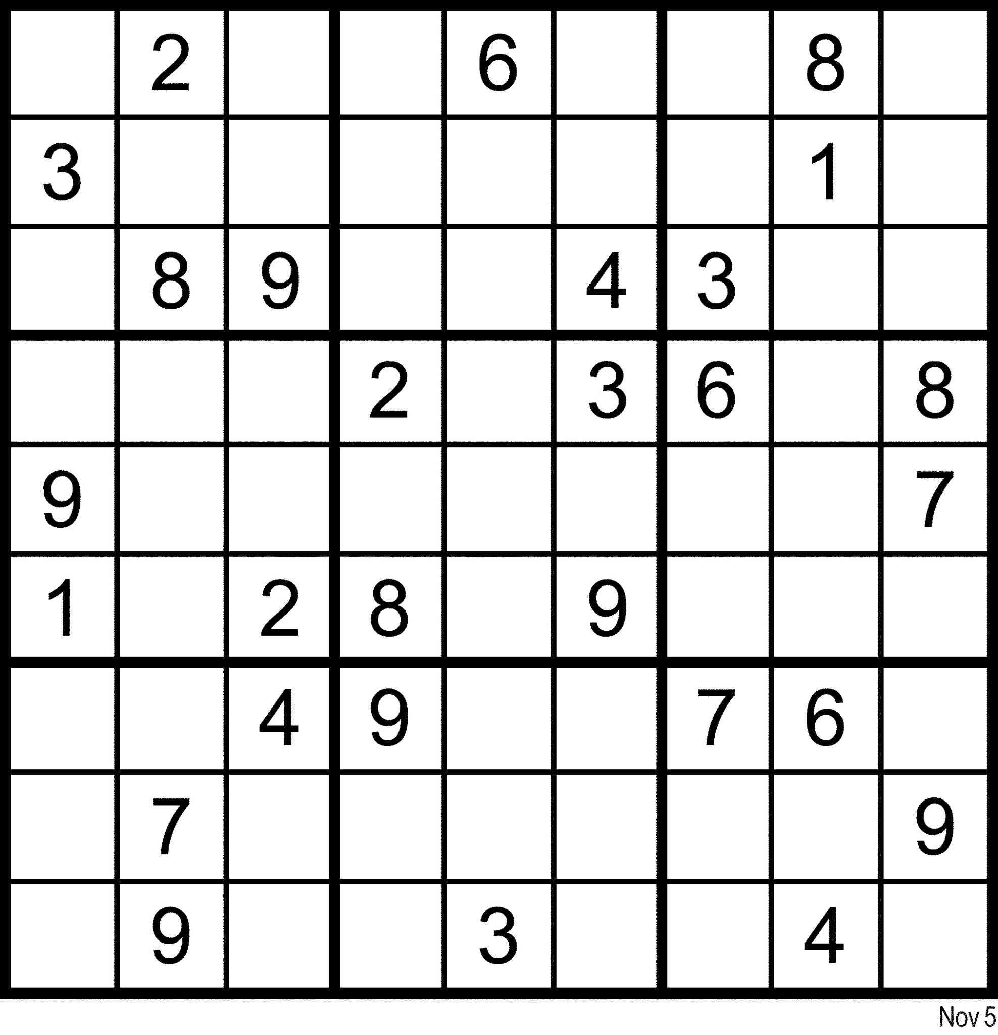 Sudoku En Ligne concernant Jeux Sudoku À Imprimer